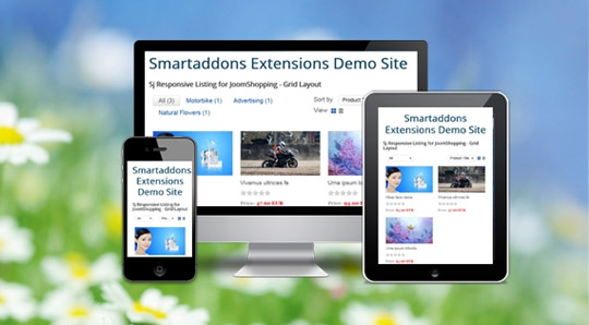 SJ Responsive Listing for JoomShopping